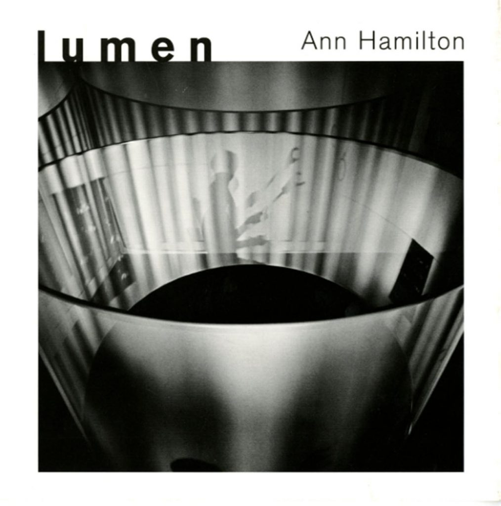 Ann Hamilton: lumen product image