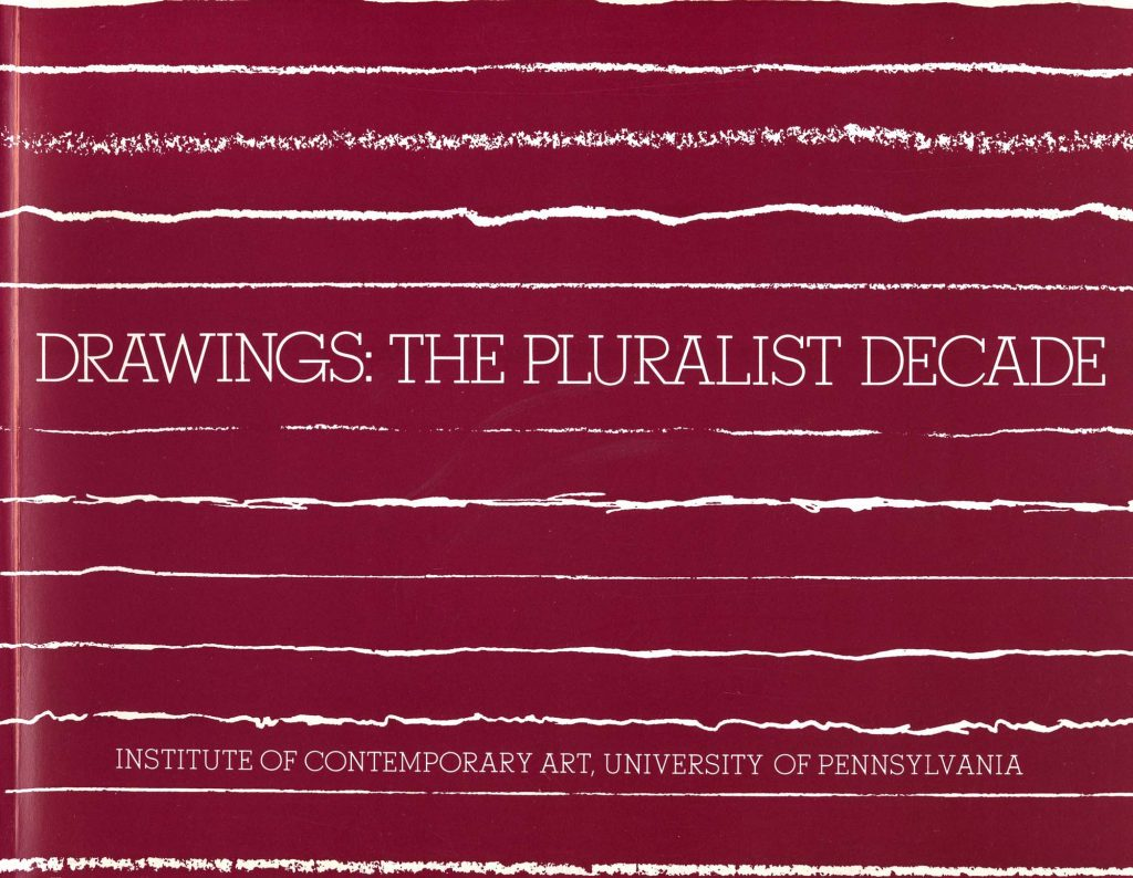 Drawings: The Pluralist Decade product image
