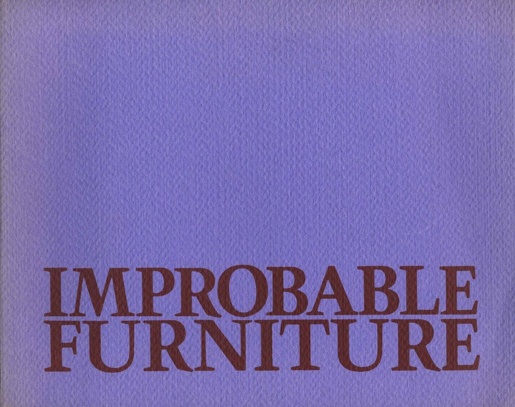 Improbable Furniture product image