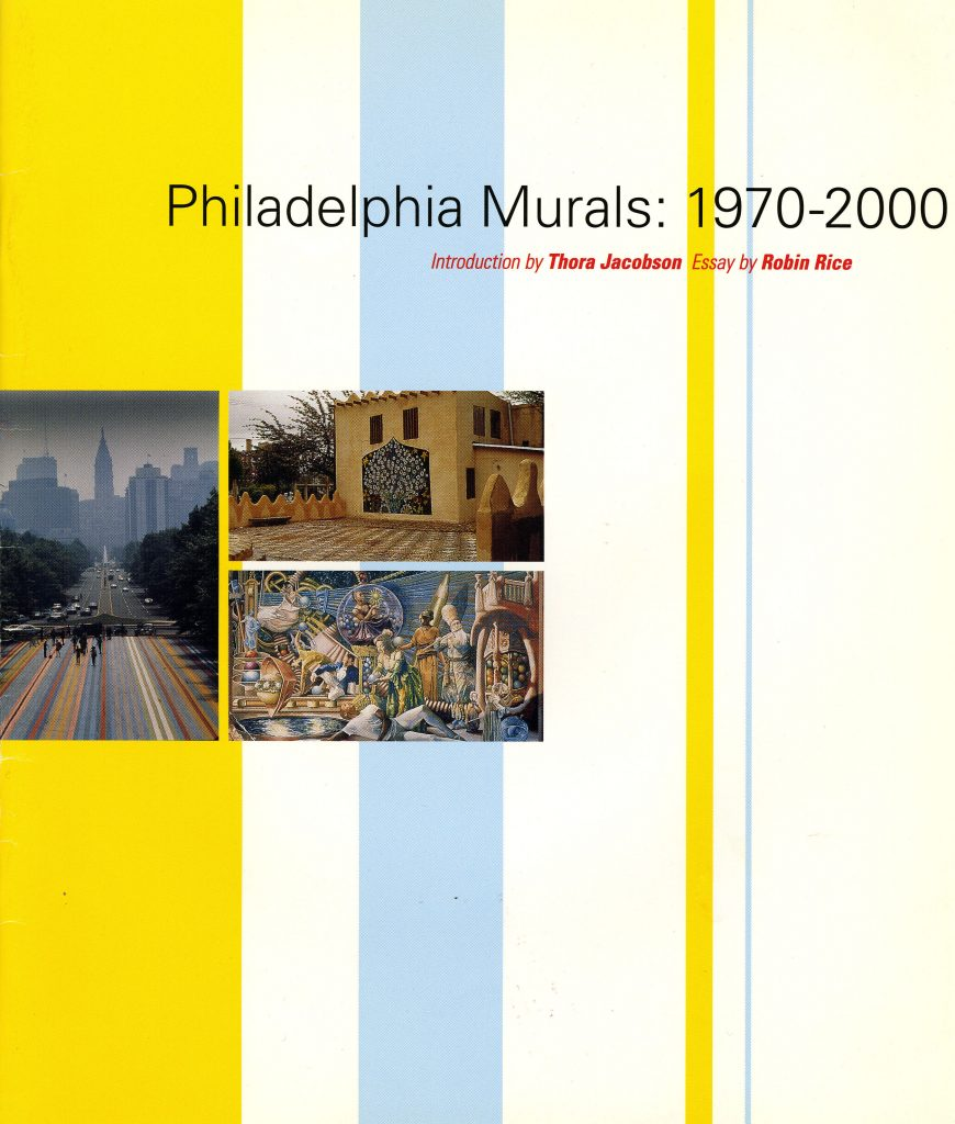 Philadelphia Murals 1970–2000: A Brief History of Philadelphia Wall Art product image