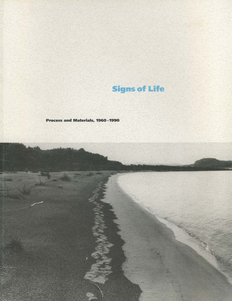 Signs of Life: Process and Materials 1960–1990 product image