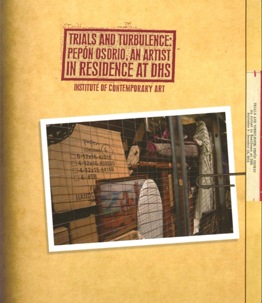 Trials and Turbulence: Pepón Osorio, an Artist in Residence at DHS product image