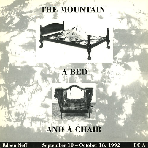 Eileen Neff: The Mountain, a Bed, and a Chair product image