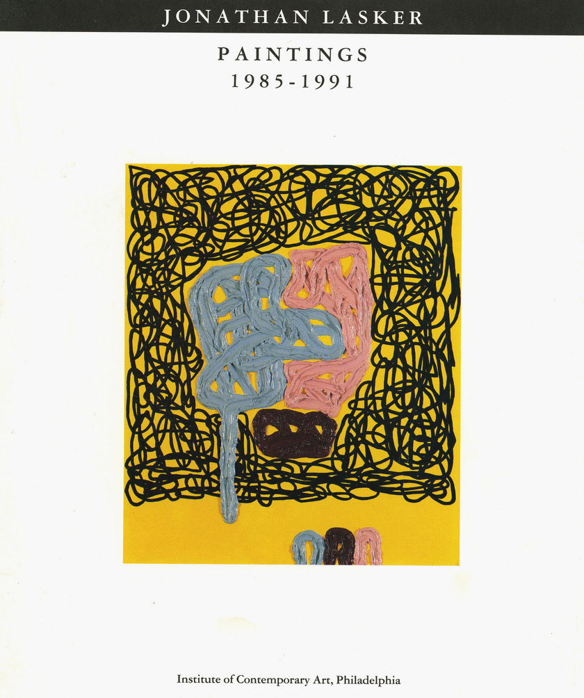 Jonathan Lasker: Paintings 1985-1992 product image