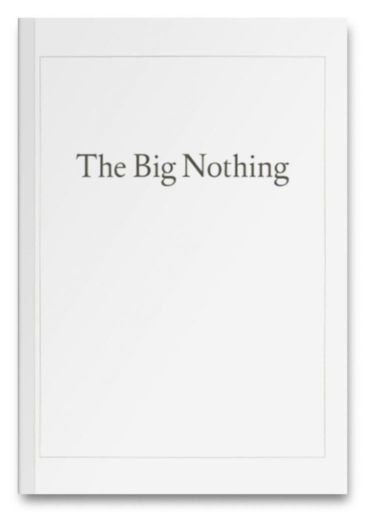 The Big Nothing product image