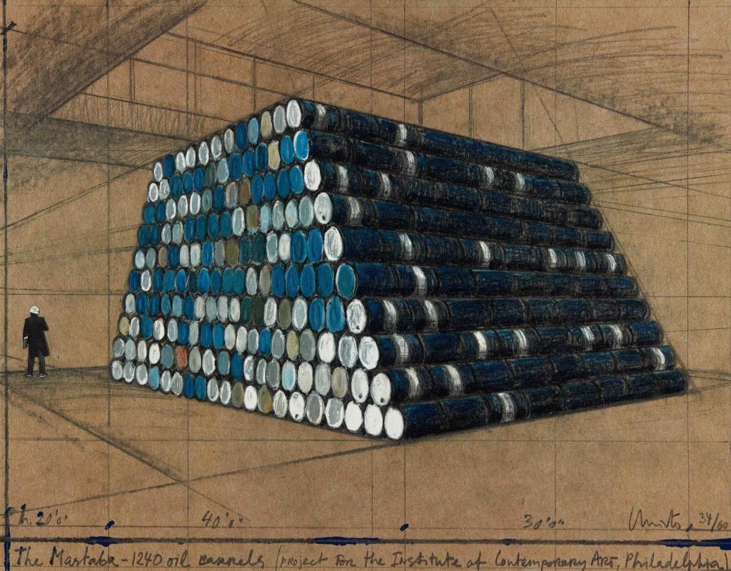 Christo and Jeanne-Claude: The Mastaba, 1240 Oil Barrels product image