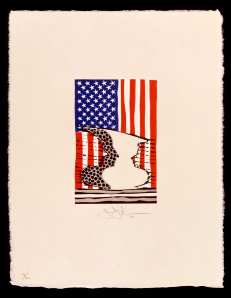 Jasper Johns: Flag and Vase product image