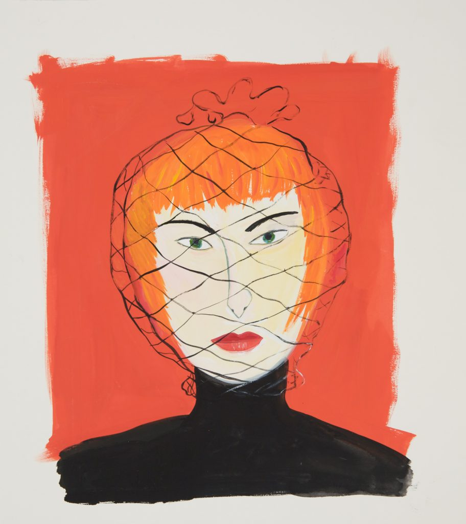 Maira Kalman: Woman with Face Net product image