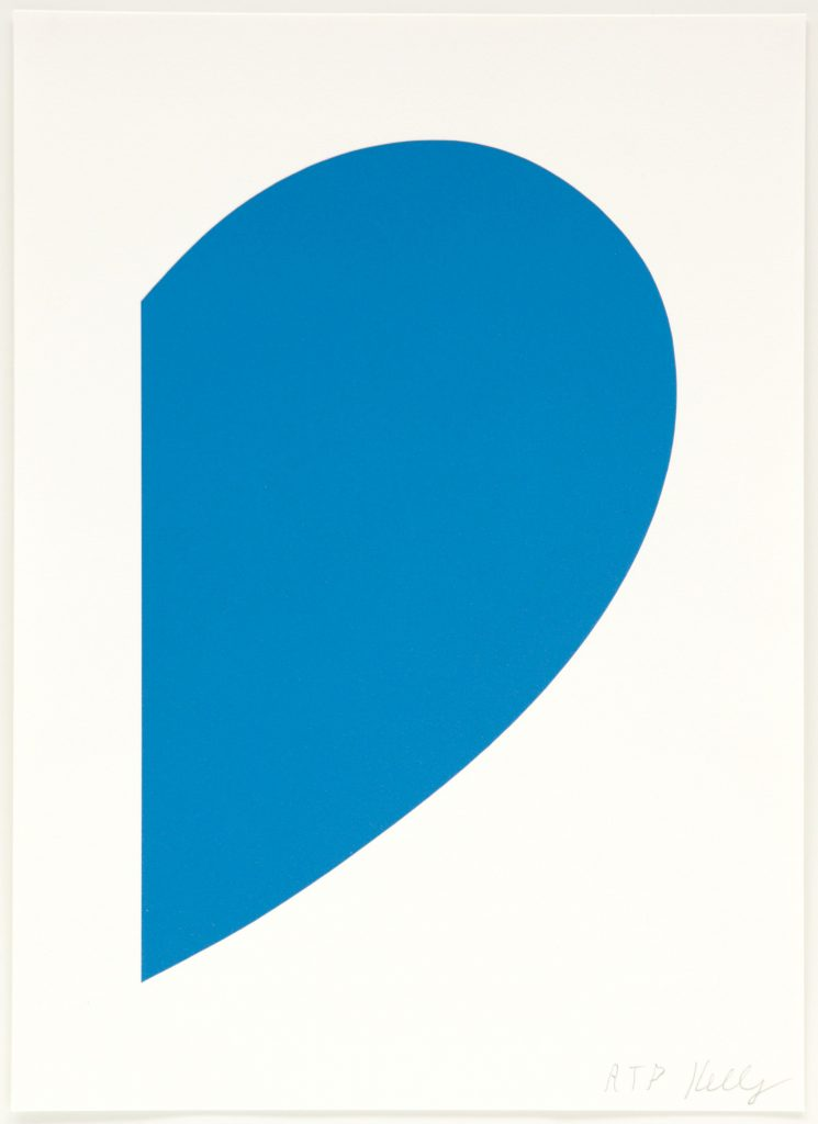 Ellsworth Kelly: Small Blue Curve product image