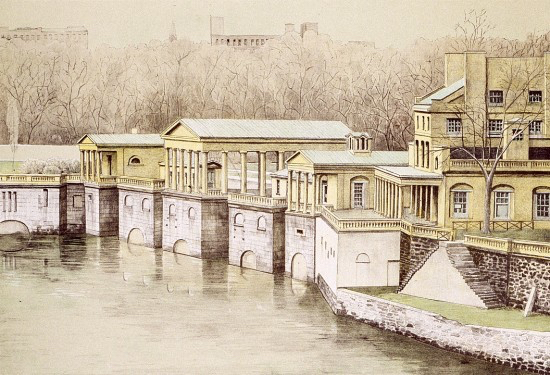 Richard Haas: Old Waterworks, Philadelphia product image