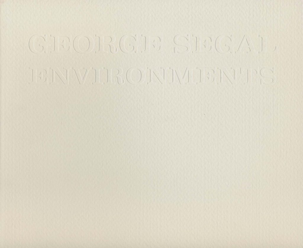 George Segal: Environments product image