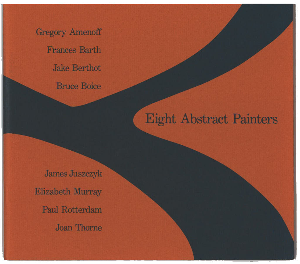 Eight Abstract Painters product image