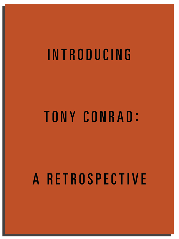Introducing Tony Conrad: A Retrospective product image