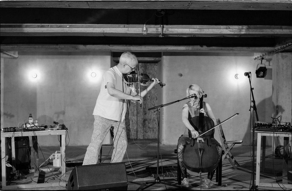 Tony Conrad & Jennifer Walshe