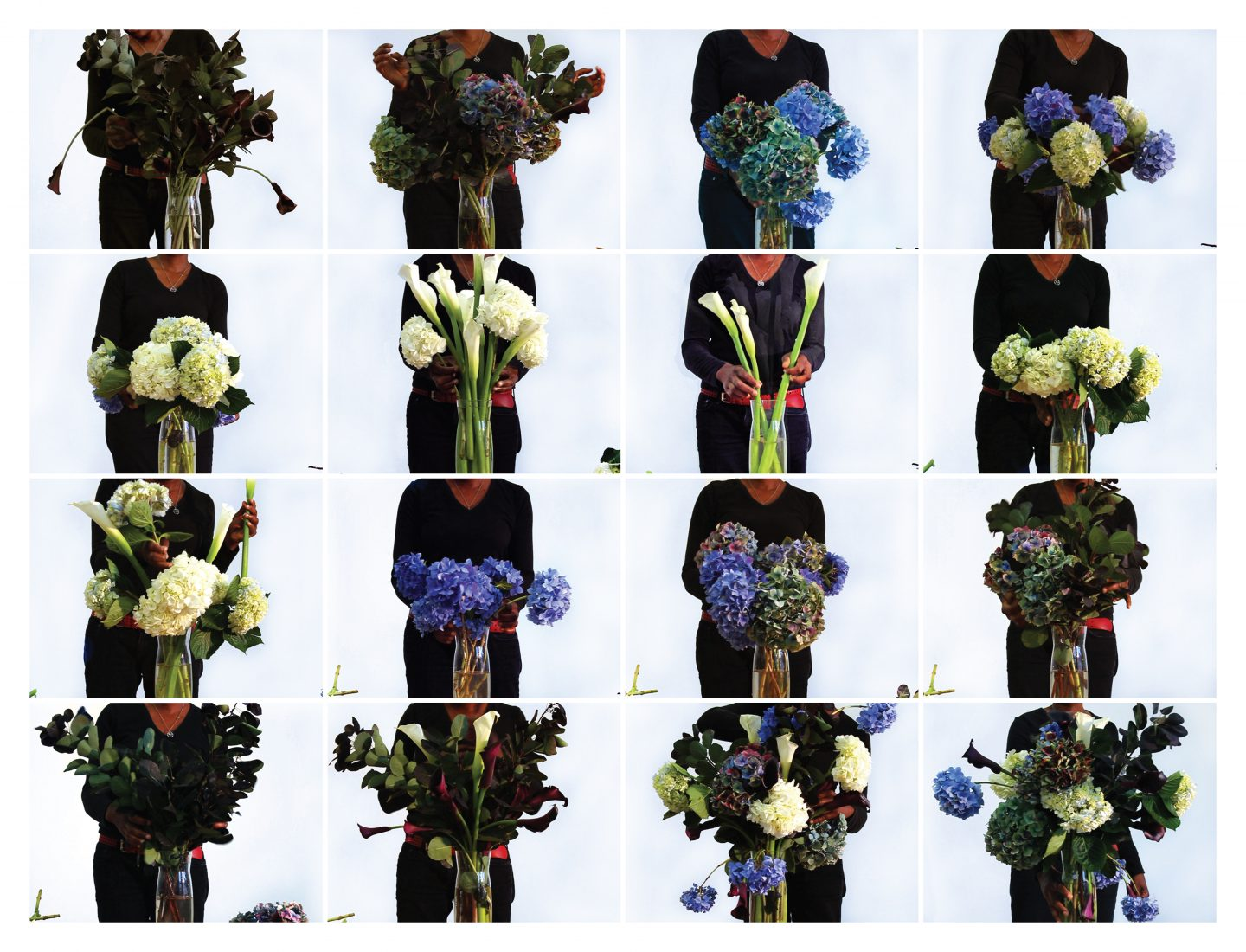 Cauleen Smith: Photo grid from <em>Black And Blue Over You (After Bas Jan Ader For Ishan)</em> product image